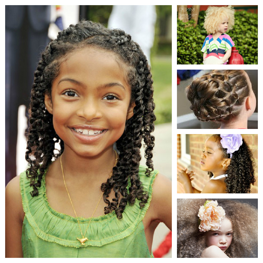 Kids Back to School Hairstyles for Black Girls