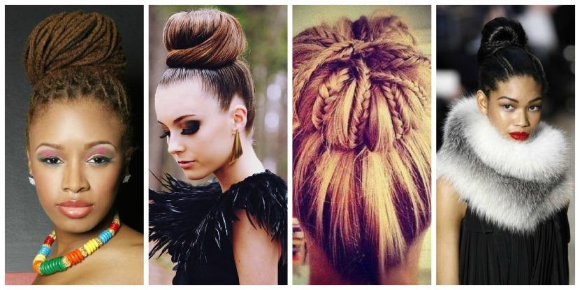 bun hairstyle 2012
