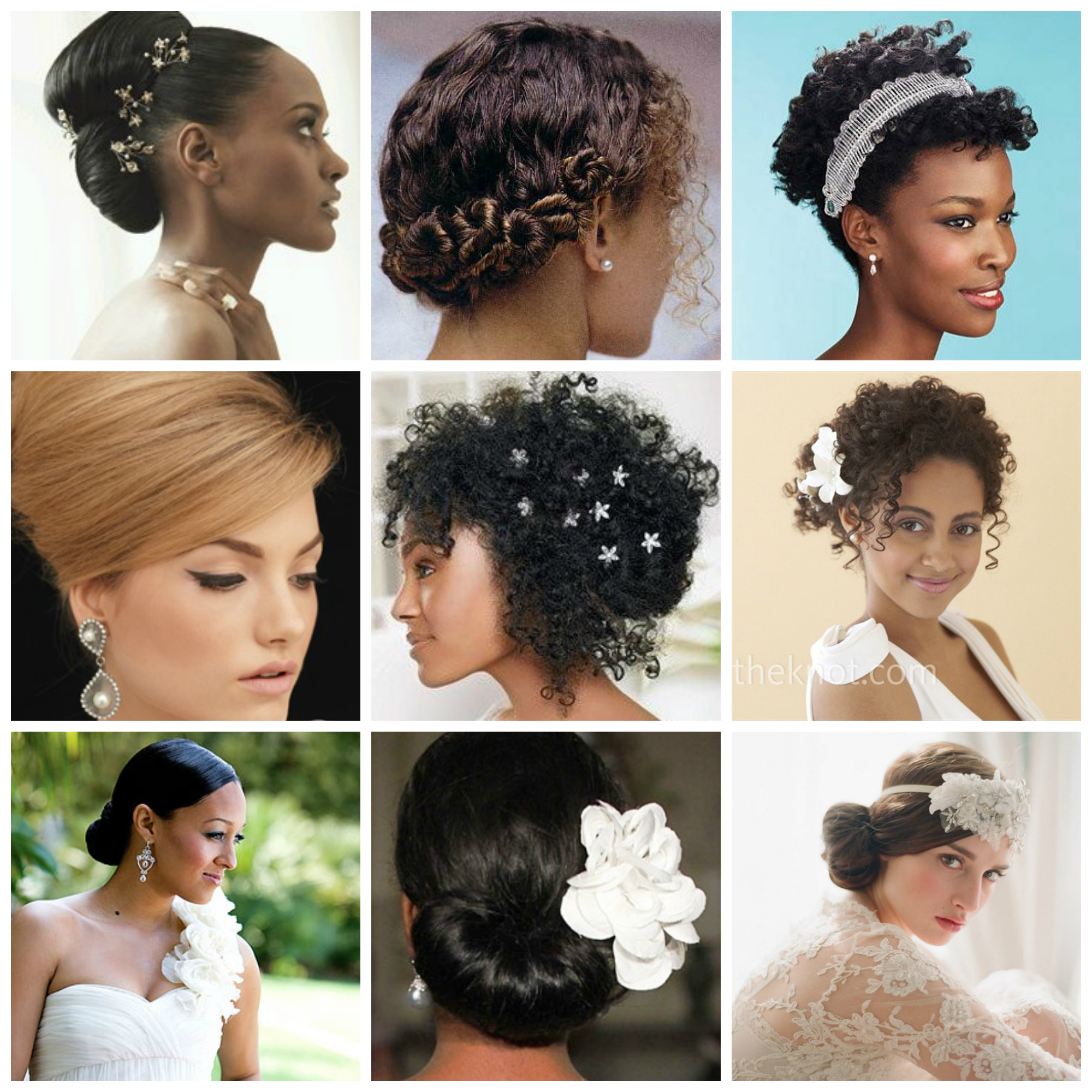 Wedding Hairstyle For Natural Curly Hair: Wedding Hairstyle Ideas For Curly Hair