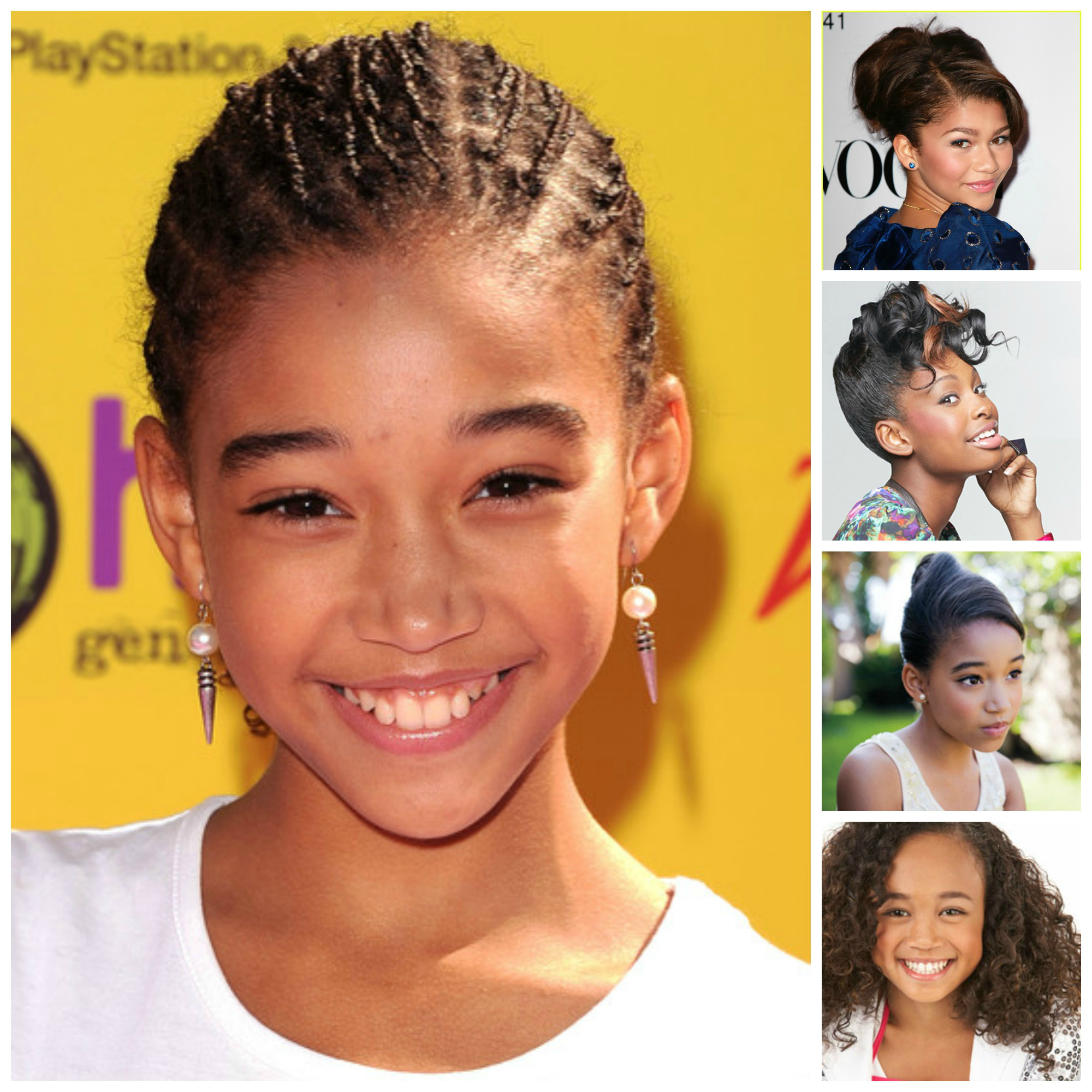 Super Back To School Hairstyle Ideas For Kids And Teens My Curls Short Hairstyles Gunalazisus