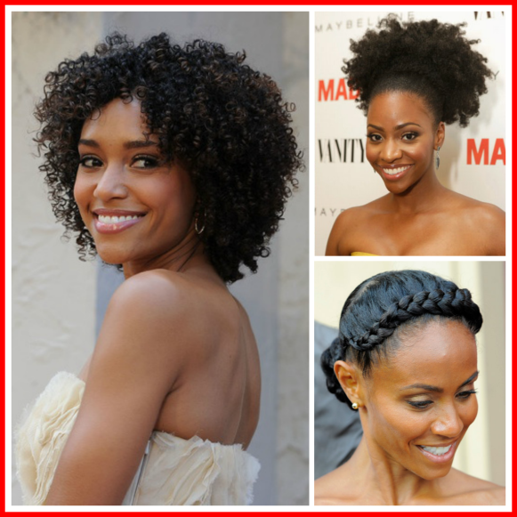 Formal hairstyle ideas natural hair