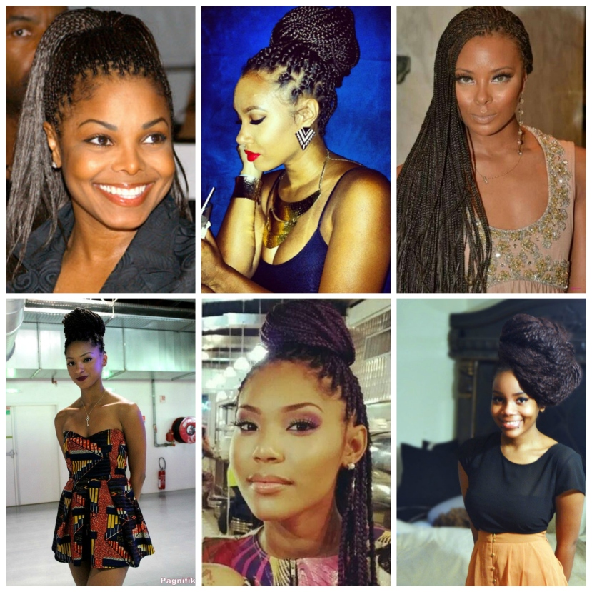 natural hair styles braids