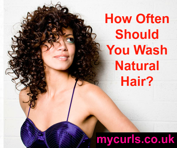 how often should you wash curly and afro hair?