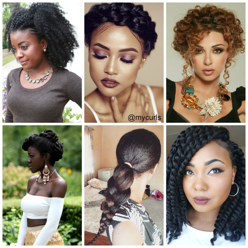 Formal Hairstyle Ideas For Natural Hair My Curls