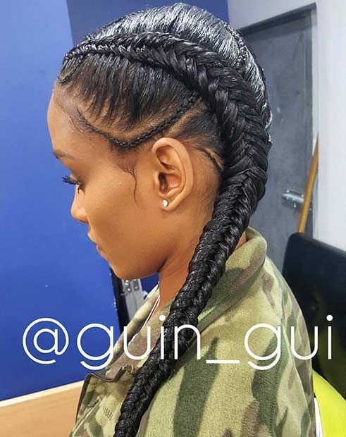 6 Cornrow Hairstyles That Ll Make Your Mouth Drop My
